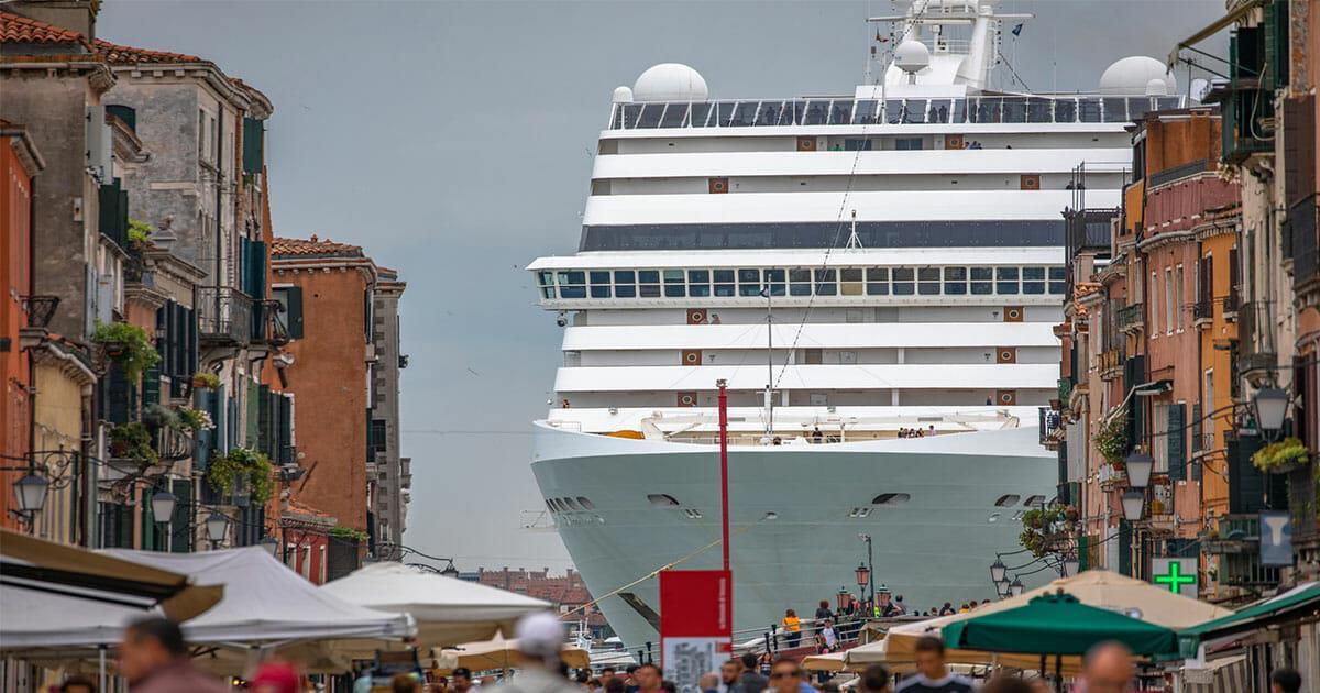 Venedig: Für den Erhalt der Stadt sollen Kreuzfahrtschiffe im Zentrum ab September verboten werden