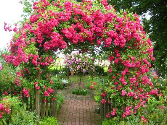 Der Eingang zum Garten wird oft vergessen… Schöne Deko Ideen für den Garteneingang.