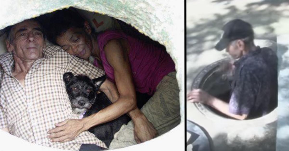 Im Untergrund: Paar lebt seit 27 Jahren in der Kanalisation.