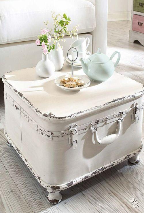 Ich packe meinen Koffer… 12 TOLLE Ideen zum Basteln mit alten Koffern!