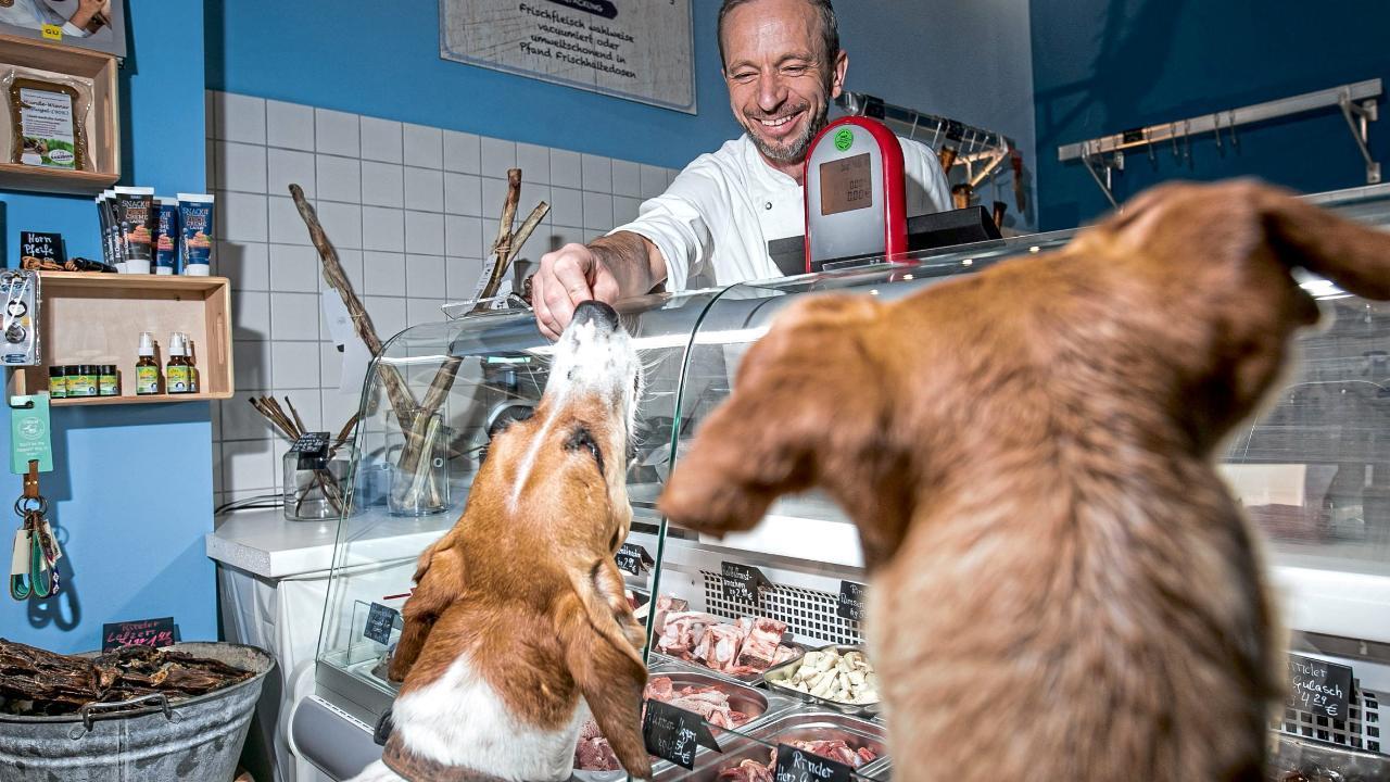 """""""Barf-Butcher"""" in Köln: Der Metzger, den die Hunde lieben"""