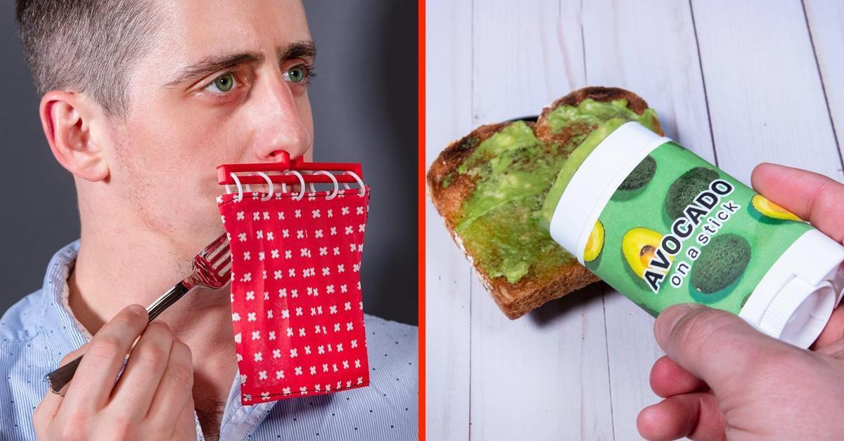 20 Spaß Erfindungen zwischen genial und bescheuert.
