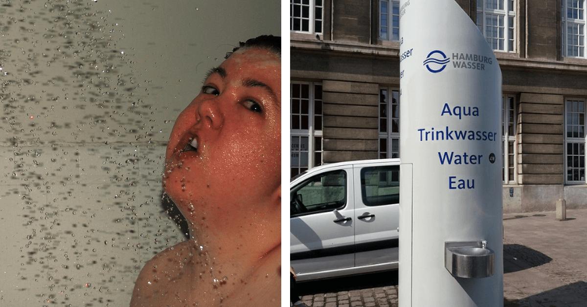 5 Momente, in denen du kein Wasser trinken solltest.