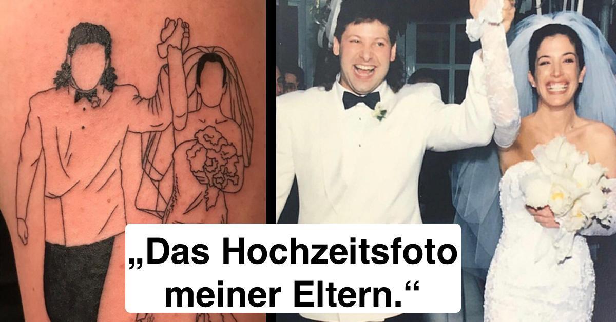 16 Tattoos, die eine Geschichte erzählen.