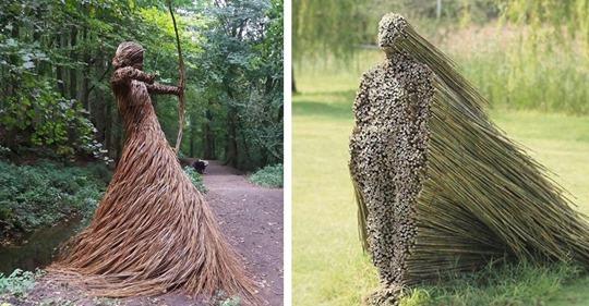 Landschaftskunst: 20 geniale Skulpturen und Installationen in freier Natur