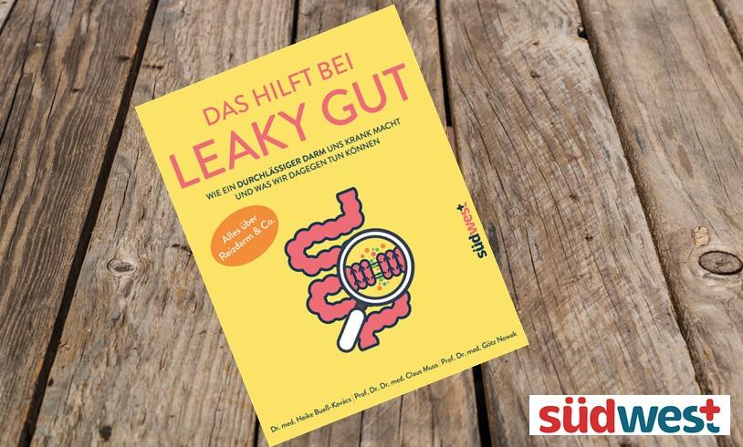"""10 x das Buch """"Das hilft bei Leaky Gut"""" zu gewinnen!"""