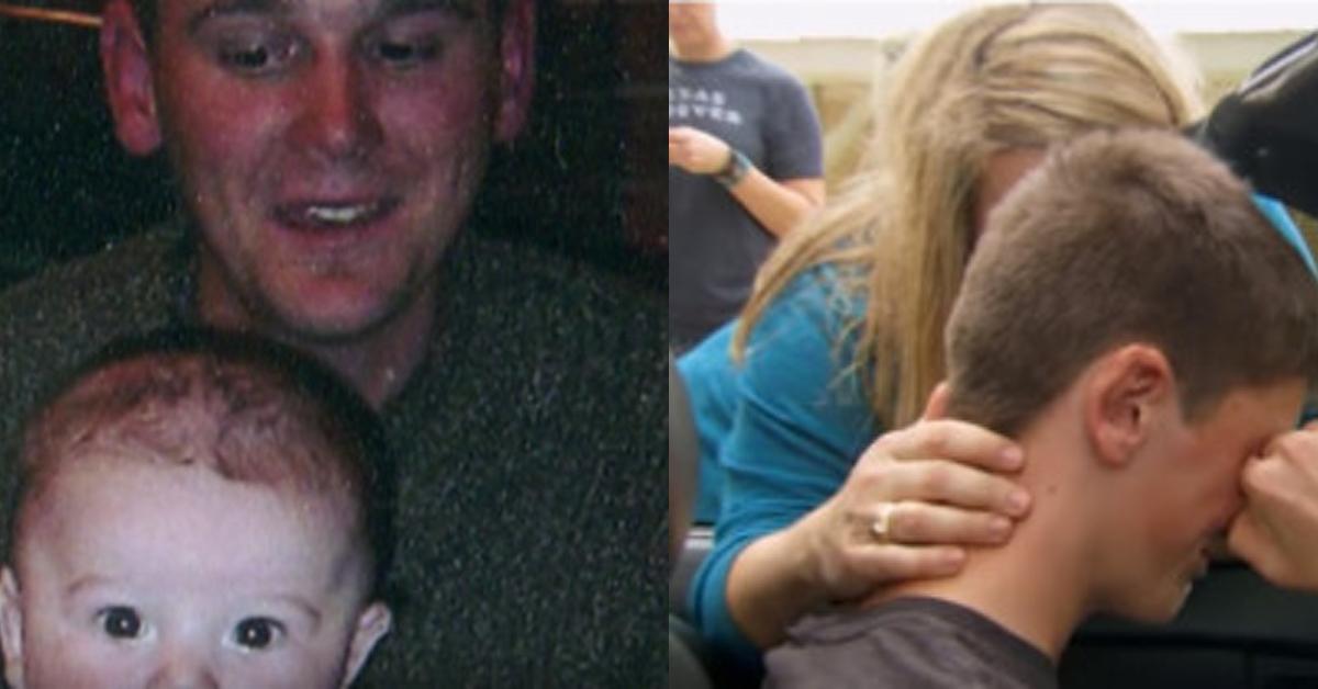 Teenager findet nach 15 Jahren Auto des toten Vaters wieder.