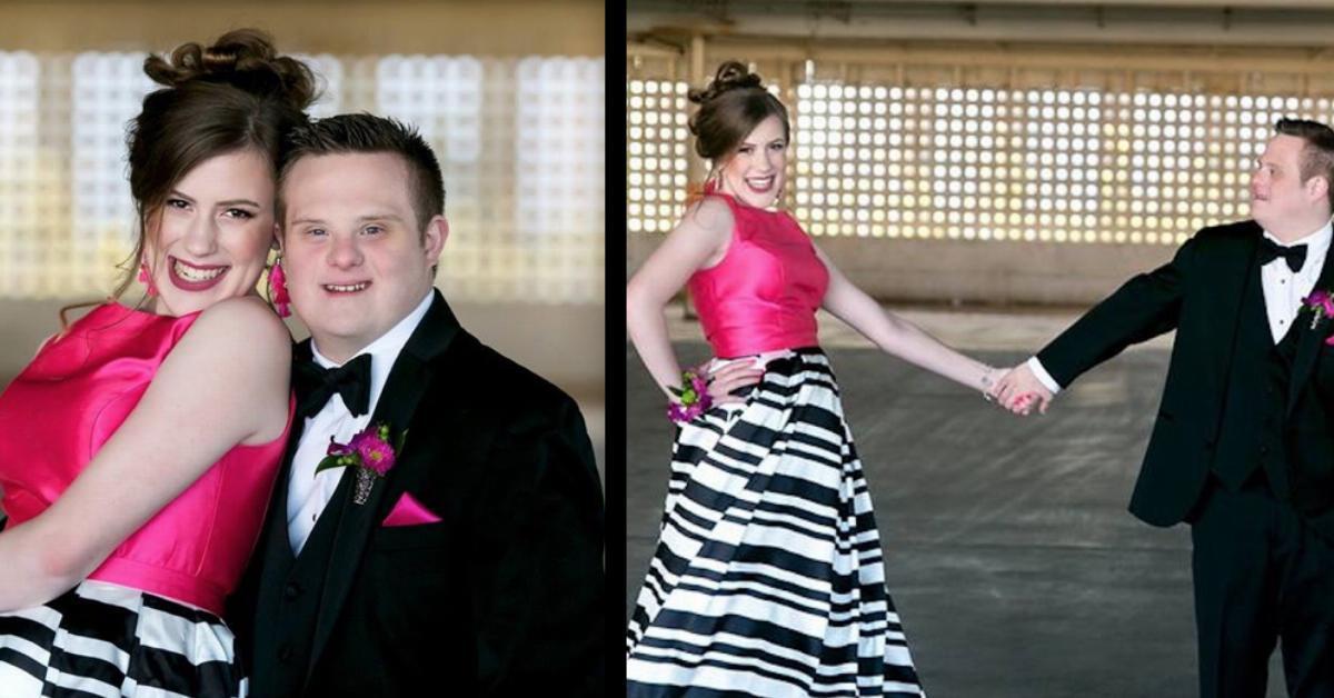 Paar mit Behinderung darf endlich zum Abschlussball.