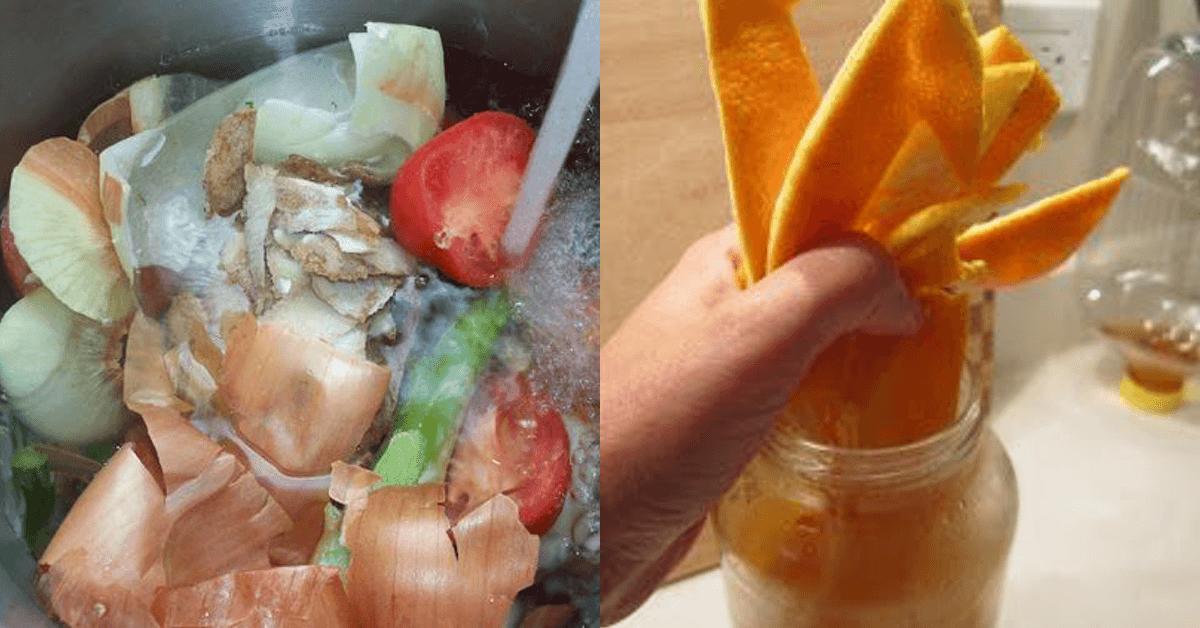 12 Tricks aus Küchenabfällen.
