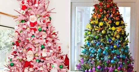 30 außergewöhnliche Weihnachtsbäume, die dich inspirieren werden, mal was Neues auszuprobieren