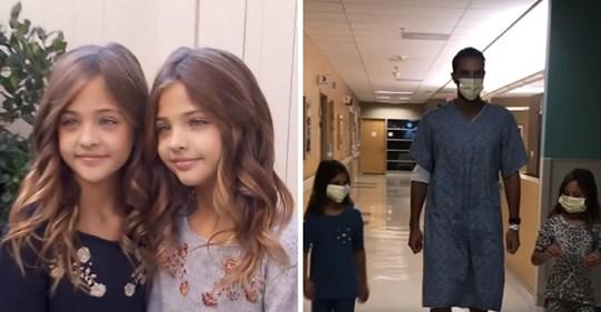 Die 'Schönsten Zwillinge der Welt' bitten ihre 1,5 Millionen Fans, ihrem kranken Vater zu helfen