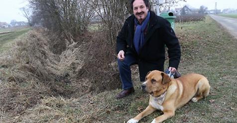 """Hund """"Zeus"""" rettet Steirerin vor dem Erfrieren"""