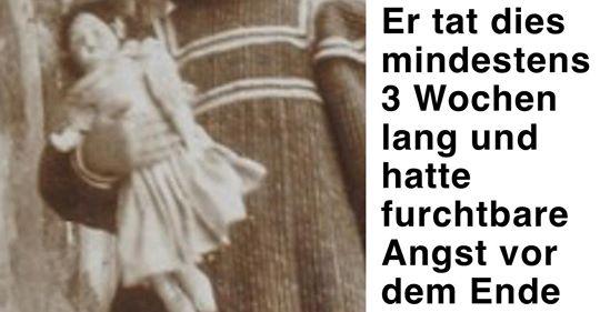 Vor 100 Jahren: Wildfremder hilft rührend traurigem Mädchen