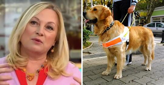 Frau bezeichnet Blindenhunde als unethisch  und hat eine große öffentliche Gegenreaktion ausgelöst