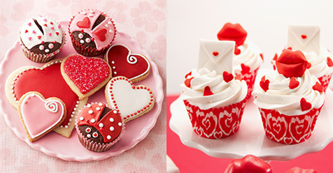 Liebe geht durch den Magen! Mit diesen Cupcakes beeindrucken Sie Ihren Geliebten!