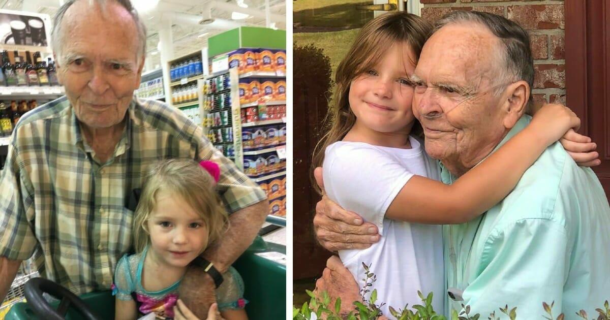 Norah (4) trauert um ihren 84-jährigen 'besten Freund' Dan