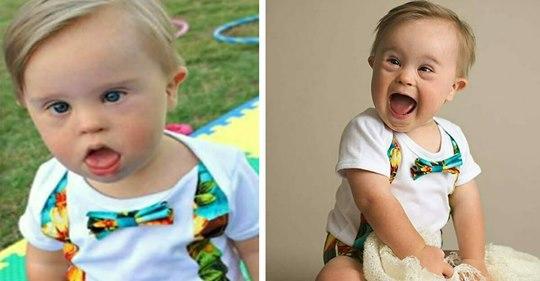 Kleiner Junge wird von Modelagentur wegen Down Syndroms abgelehnt – erreicht dafür hohe Beliebtheit im Netz