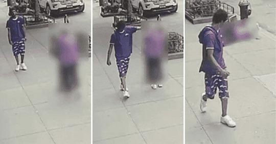 Mann schubst 92 Jährige zu Boden – schaut zu, wie sie mit dem Kopf gegen Hydranten fällt und geht weiter