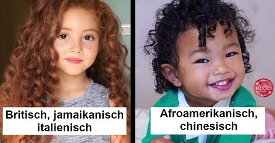 16 Kinder, die Vorfahren aus aller Welt haben