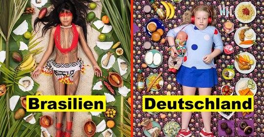 Was essen Kinder weltweit? Ein Fotoprojekt gibt Antwort