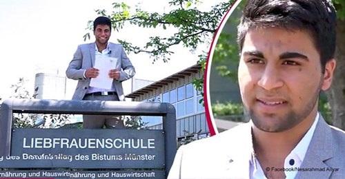 Teenager aus Afghanistan erhält die höchste Punktzahl bei Abiturprüfung, obwohl er erst seit 5 Jahren in Deutschland lebt