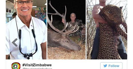 US Zahnarzt erlegt erneut ein vom Aussterben bedrohtes Tier