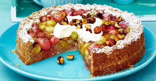 Stachelbeer-Kuchen