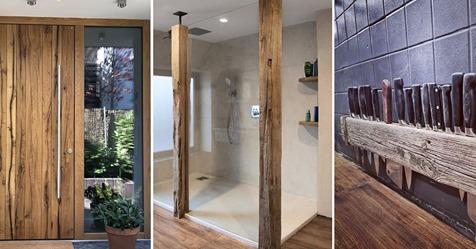 Holz ist nachhaltig und lässt sich mit einer modernen Einrichtung kombinieren … 8 wirklich prächtige Ideen mit Holz!