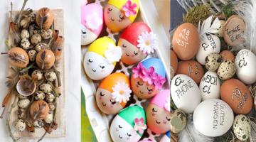 Ein Ei gehört dazu! Mit diesen 14 Ideen schaffen Sie die schönsten Ostereier!
