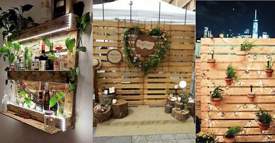 Haben Sie noch irgendwo Paletten herumliegen? Diese 8 Ideen mit Paletten für Haus und Garten sind super cool!
