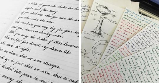 """15 Beispiele für Schreibkunst, deren Perfektion dir nur noch ein """"Oh mein Gott"""" entlockt"""