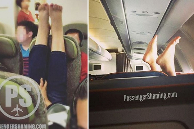 11 Bilder, die zeigen, dass Menschen in Flugzeugen nicht richtig funktionieren