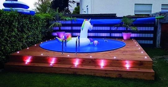 Viel Geld für einen teuren Pool ausgeben? (…) Nichts davon! Die schönsten DIY-Pools, die Sie ganz einfach selbst bauen können.!