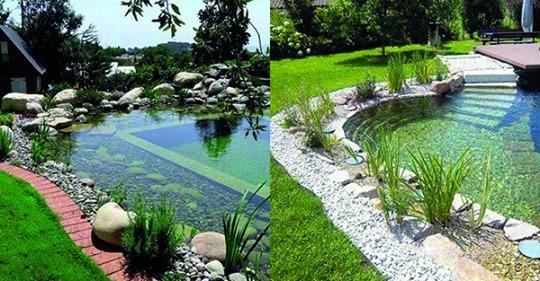 Auf der Suche nach einer kleinen Abkühlung in diesem Sommer …? Schauen Sie sich die schönsten Schwimmteiche hier an und machen Sie los!