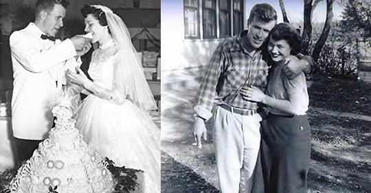Geliebte, die als Teenager geheiratet haben, sterben innerhalb von 36 Stunden an Altersschwäche