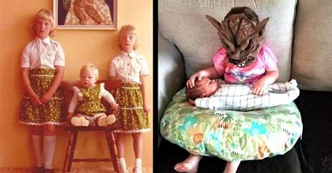 14 witzige Geschwister Bilder