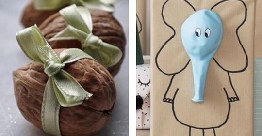 Originelle und kreative Geschenkverpackungen zum Selbermachen