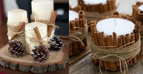 Mit Kerzen bringen Sie wieder Wärme und Geselligkeit in Ihre Einrichtung! 12 stimmungsvolle Ideen zum Winterthema!