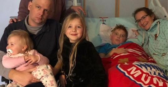 Vater & Bruder starben bereits an Krebs, Mutter schwer krank – nun hat auch Neele (7) einen Hirntumor
