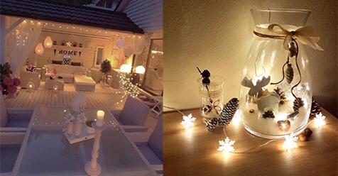 19 Super süße Arten, das Haus mit Lichterketten gemütlich zu schmücken.. Nummer 10 ist verrückt!