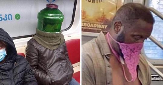Maskenpflicht: 20 verrückte und lustige Masken