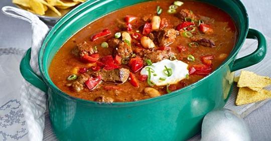 Chili-Rindfleisch-Topf