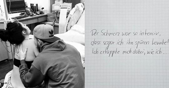 Frischgebackener Papa schreibt nach Geburt Brief an Ehefrau