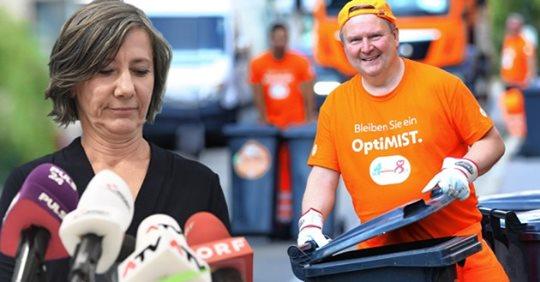 Wiens Bürgermeister Ludwig entsorgt die Grünen