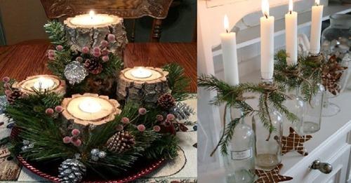 Die schönsten Weihnachts- und Winterdekorationen gestalten Sie einfach selbst. Diese 11 Weihnachtsideen sollten Sie gesehen haben!