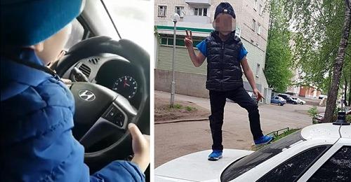 """""""Stolze"""" Mama filmt ihren 6-jährigen Sohn, wie sie ihn mit 130 km/h Auto fahren lässt"""