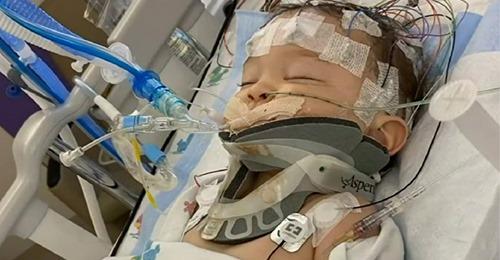 """Junge (8 Monate alt) ist hirntot und kämpft ums Überleben – eigener Vater hatte ihn zu sehr """"geschüttelt"""""""