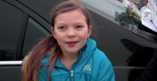 Um Beerdigung ihres Papas zu bezahlen: 9 jährige Tochter verkauft selbstgebackene Kekse