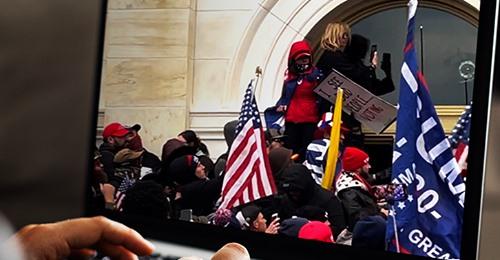 Antifa Aufstachelung zu US Kapitol Stürmung: Hass Aktivist verhaftet
