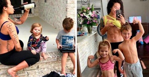 Sia Cooper berichtet von bösem Mom Shaming